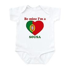Sousa, Valentine's Day Infant Bodysuit