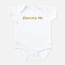 Educate Me Infant Bodysuit