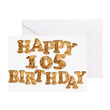 105th birthday card for a cookie lover Greeting Ca