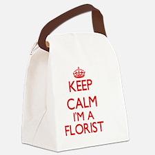 Keep calm I'm a Florist Canvas Lunch Bag