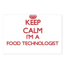 Keep calm I'm a Food Tech Postcards (Package of 8)