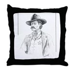 Old Time Lawman Throw Pillow
