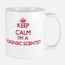 Keep calm I'm a Forensic Scientist Mugs