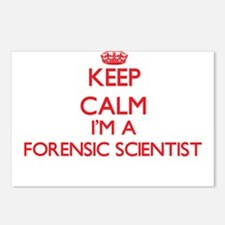 Keep calm I'm a Forensic Postcards (Package of 8)