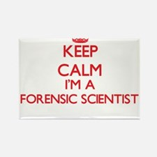Keep calm I'm a Forensic Scientist Magnets