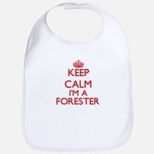 Keep calm I'm a Forester Bib