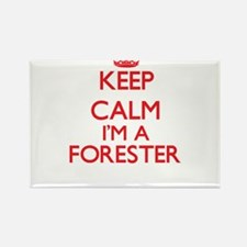 Keep calm I'm a Forester Magnets
