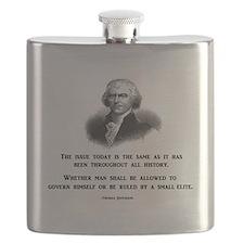 Unique Famous quote Flask
