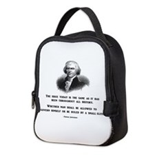 Cool Anti obama Neoprene Lunch Bag