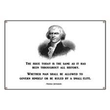 Cute Thomas jefferson quotes Banner