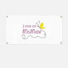 LOVE MY MEMAW Banner