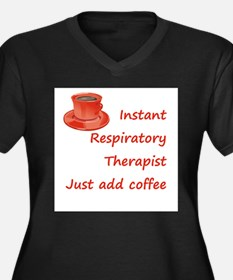 Instant Respiratory Therapist Women's Plus Size V-