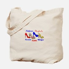 SHOE TYPES Tote Bag