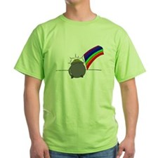 Rainbow And Pot Of Gold T-Shirt