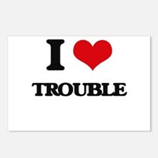 I love Trouble Postcards (Package of 8)