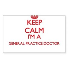 Keep calm I'm a General Practice Doctor Decal