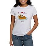 I Love Pie Women's T-Shirt
