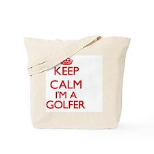 Cute Golfing Tote Bag