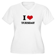I love Tuesday Plus Size T-Shirt