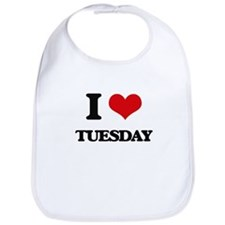 I love Tuesday Bib
