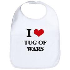 I love Tug Of Wars Bib