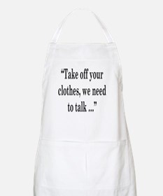 take off your Apron
