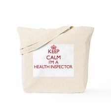 Keep calm I'm a Health Inspector Tote Bag