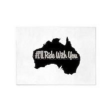 Ride Australia 5'x7'Area Rug
