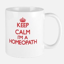 Keep calm I'm a Homeopath Mugs