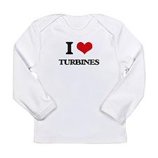 I love Turbines Long Sleeve T-Shirt