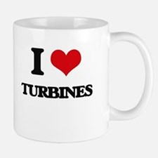 I love Turbines Mugs