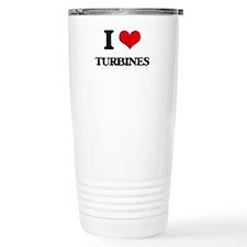 I love Turbines Travel Mug
