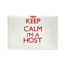 Keep calm I'm a Host Magnets