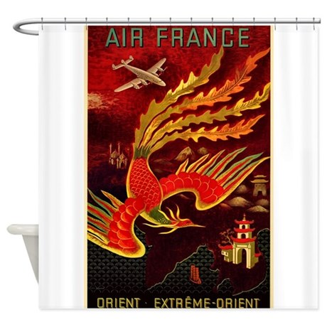 Air france shower curtain by admin cp12151414 for Air france assistance chaise roulante