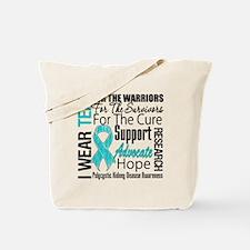 Polycystic Kidney Disease Tote Bag