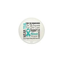 Polycystic Kidney Disease Mini Button (10 pack)