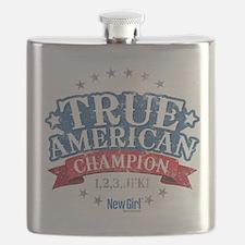 New Girl Champion Flask