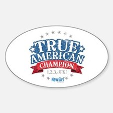 New Girl Champion Decal