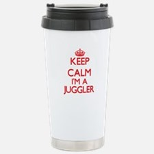 Keep calm I'm a Juggler Stainless Steel Travel Mug