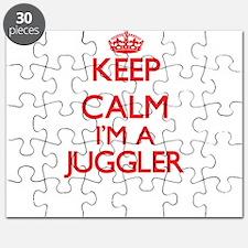 Keep calm I'm a Juggler Puzzle