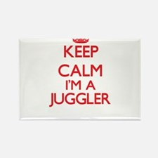 Keep calm I'm a Juggler Magnets