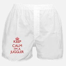 Keep calm I'm a Juggler Boxer Shorts