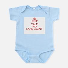 Keep calm I'm a Land Agent Body Suit