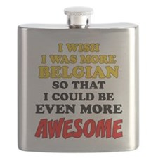 More Belgian More Awesome Flask