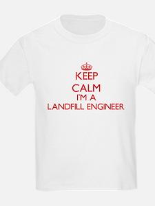 Keep calm I'm a Landfill Engineer T-Shirt
