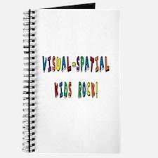 Visual Spatial Kids Rock Journal