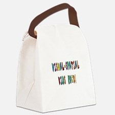 Visual Spatial Kids Rock Canvas Lunch Bag