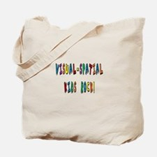 Visual Spatial Kids Rock Tote Bag