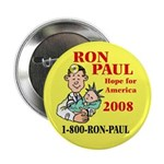 """Ron Paul for Pres. 2.25"""" Button (10 pack)"""