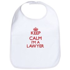 Keep calm I'm a Lawyer Bib
